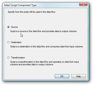 Script Component Type